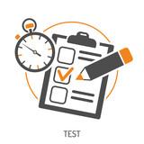 Fototapety Education Flat Icon Set