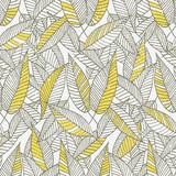 Fototapety Seamless Floral Leaf Pattern
