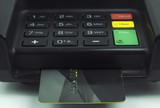 Credit card in a pin pad - EMV Chip