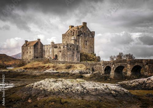 Eilean Donnan Castle Kyle of Lochalsh Scotland Poster