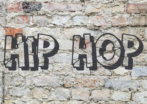 Culture Hip Hop, graffiti © brimeux