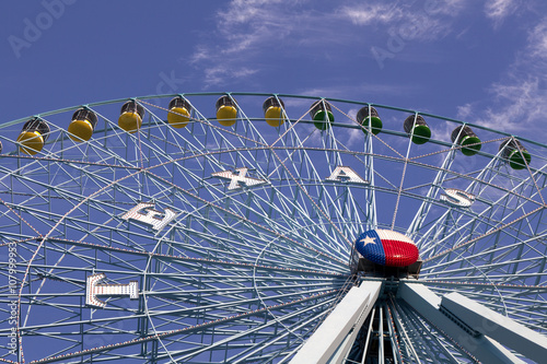 Plakat Ferris wheel in Dallas Texas