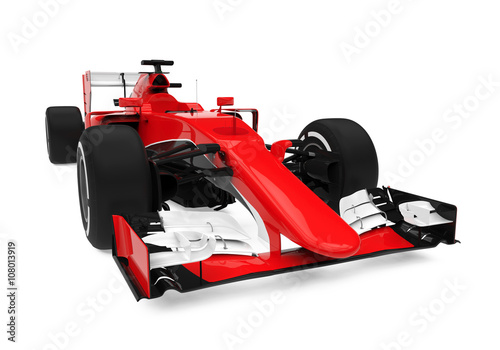 Deurstickers F1 Formula One Race Car