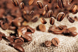 Fototapety frisch gerösteter Kaffee