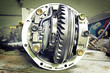 Постер, плакат: Front reduction gear from a Japanese car