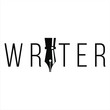 writer. legal lawyer symbol.