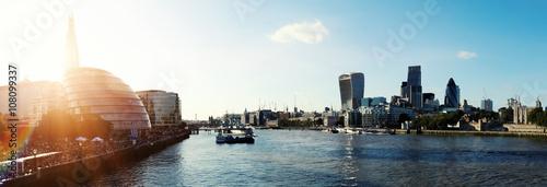 obraz PCV London sunshine