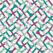 Materiał do szycia Abstract seamless striped pattern. Vector illustration