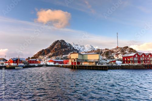 Poster Stamsund, Lofoten Islands, Norway