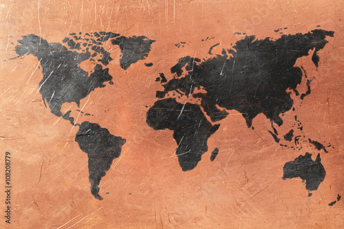 World map © dtvphoto