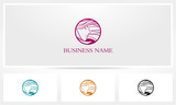 Woman Hair Beauty Logo