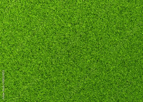 Leinwanddruck Bild Perfekter Rasen
