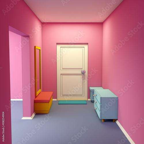 cartoon marina's hallway © Alexei Sysoev