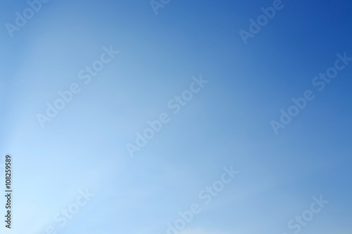 Fototapeta clear blue sky background