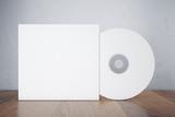 Blank white disk