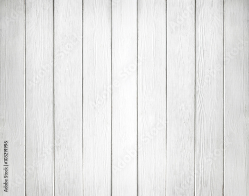 Fototapeta White background of wooden planks