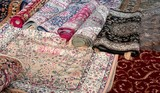 wool rugs made by hand in the Middle East