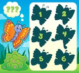 Butterfly riddle theme image 1