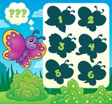 Butterfly riddle theme image 2
