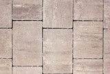 Paving slabs of various forms