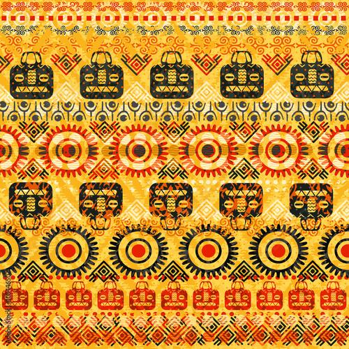 Materiał do szycia Tribal wzór. Może służyć do tkaniny, kurtki, torby, notebooki, karty, koperty, poduszki, koce, mebli, pakowanie