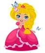 Obrazy na płótnie, fototapety, zdjęcia, fotoobrazy drukowane : Маленькая принцесса