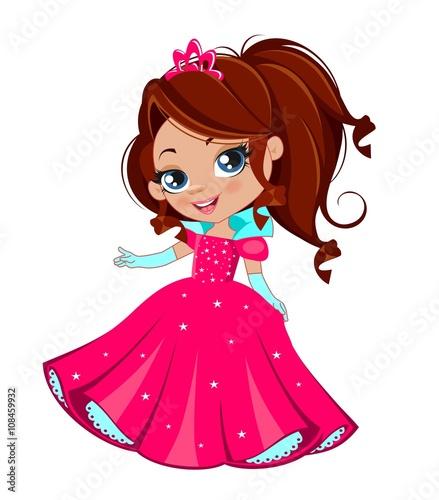 Zdjęcia na płótnie, fototapety, obrazy : Маленькая принцесса