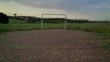 campo di calcio di periferia
