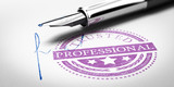 Trusted Professionnal Stamp