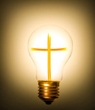 lightbulb cross