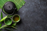 Fototapety Green japanese tea