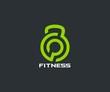 Fitness logo - 108589978