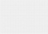 Fototapety Five millimeters grid on a4 size horizontal sheet