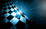 Fototapety Racing square background, vector illustration abstraction in racing car track