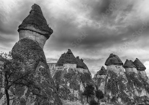 Zdjęcia na płótnie, fototapety, obrazy : Fairy tale chimneys