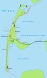 Landkarte Sylt - Vektorgrafik - 108696969