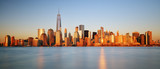 Downtown New York skyline panorama from Liberty State park, USA - 108703108