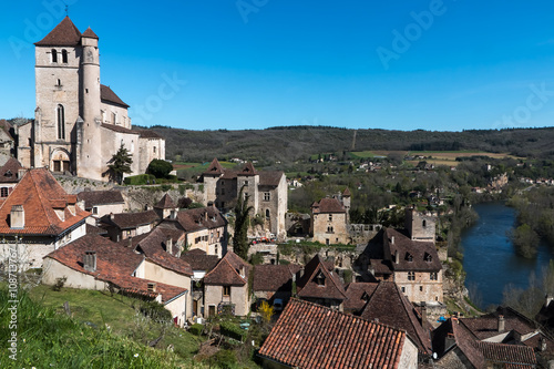 Zdjęcia na płótnie, fototapety, obrazy : Village de Saint Cirq Lapopie dans le Lot