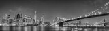 Fototapeta Nowy York - New York manhattan bridge night view © Andrea Izzotti