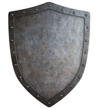 medieval coat of arms shield 3d illustration isolated