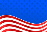 American Flag Background - United States - 108741797