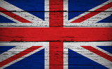 UK Flag Union Jack Grunge Background