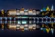 Zamek Królewski w Warszawie nocą - 108787548