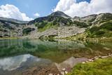 Hvoynati Peak and Muratovo Lake, Pirin Mountain Landscape, Bulgaria