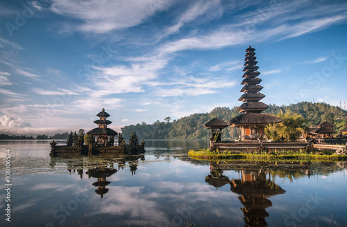 View od a Temple at Bali Indonesia
