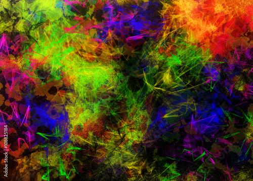 Kolorowe dynamiczne tło