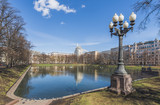 Patriarch's ponds in Moscow.