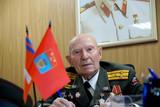 Veteran of the Battle of Stalingrad colonel Vladimir Turov - 108887539