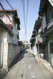 Fototapety An alley of Yorii town, Saitama, Japan.