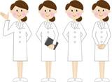 白衣の女性 セット